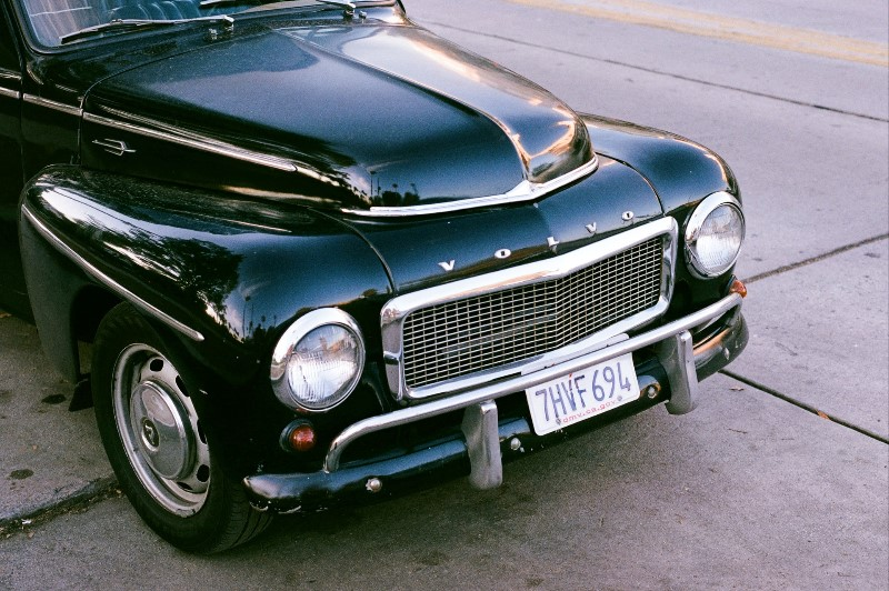 Front bonnet of a car