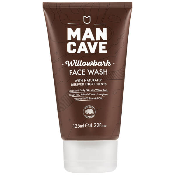 MANCAVE WILLOW BARK FACE WASH image
