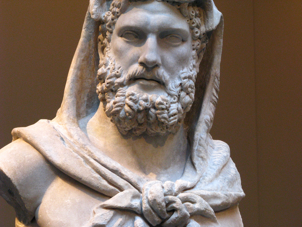 Roman Bust Beard