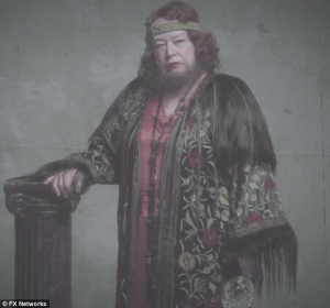Actress Kathy Bates plays Ethel Darling in American Horror Story: Freak Show  IMAGE: www.dailymail.co.uk