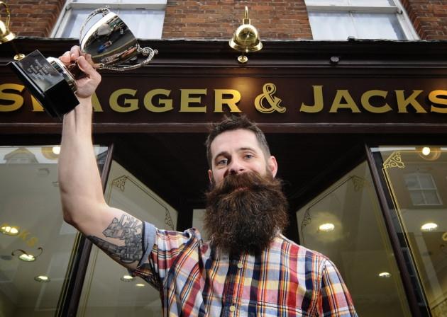 Swagger and Jacks Beard BAFTAs winner Joe Booty. Source -  ANTONY KELLY