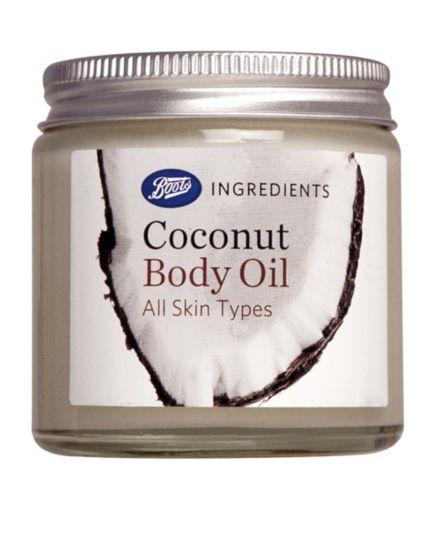 Boots Coconut Body Oil