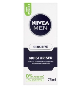 SENSITIVE MOISTURISER - NIVEA FOR MEN