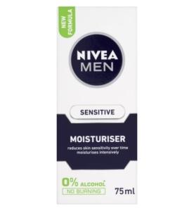 SENSITIVE MOISTURISER - NIVEA FOR MEN