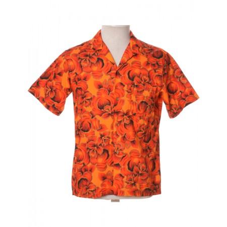 Orange Hawaiian Shirt