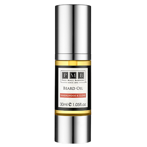 Pall Mall Barbers Sandalwood & Clove Beard Oil