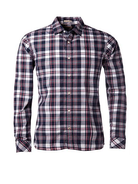 Tommy Hilfiger Norbert Check Slim Fit Long Sleeve Shirt