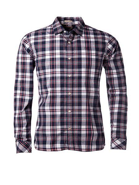 Tommy Hilfiger Norbert Check Slim Fit Long Sleeve Shirt