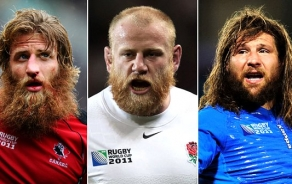 rugby beard