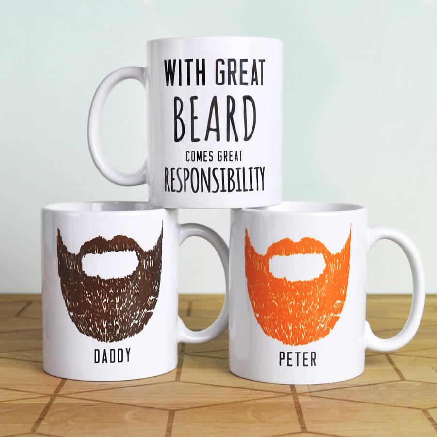 Personalised 'Great Beard' Man Mug