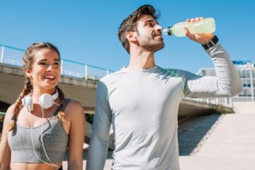 healthy fitness couple