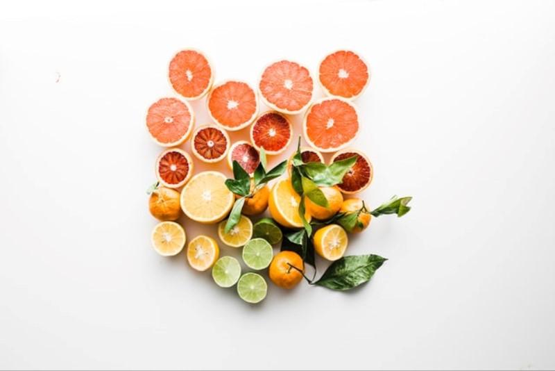 Citrus Fruits sliced vitamins