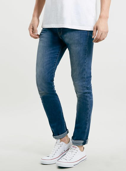 Mens Levi's 510 Skinny Fit Blue jeans*, Blue