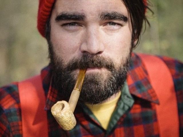 lumbersexual man