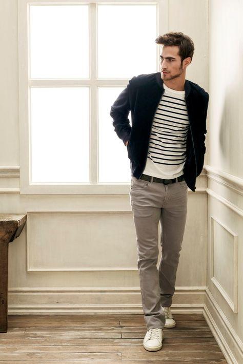 breton shirt men