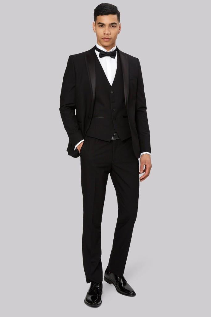 Slim Fit Black Tuxedo Jacket