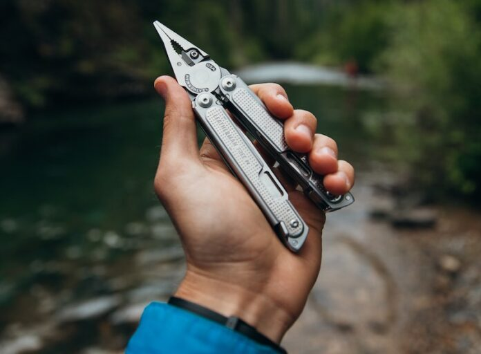 Multi-Tool in Hand