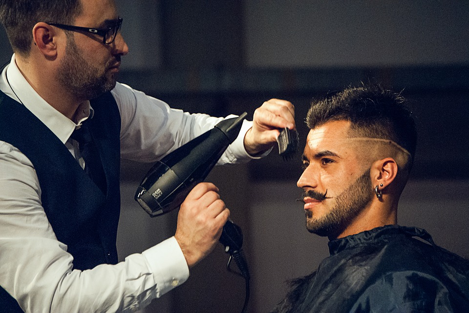 fade hairstyle men