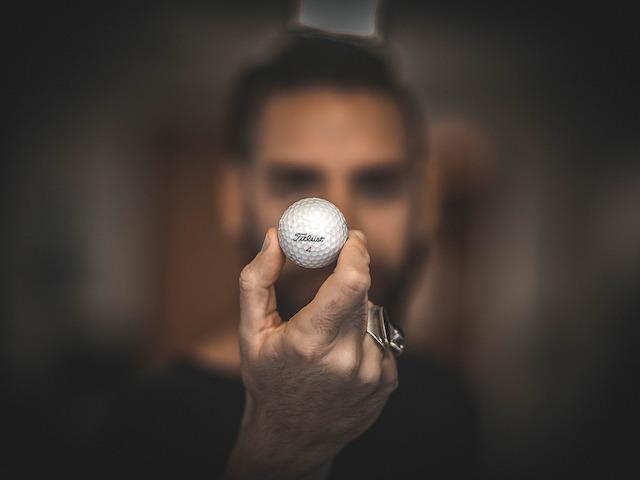 bearded golfer
