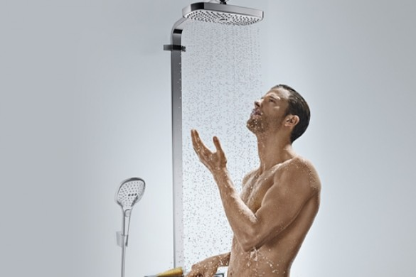hg_raindance-select-showerpipe_showering-man_730x411