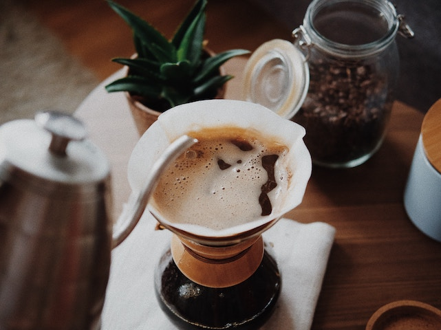 home coffee brewing