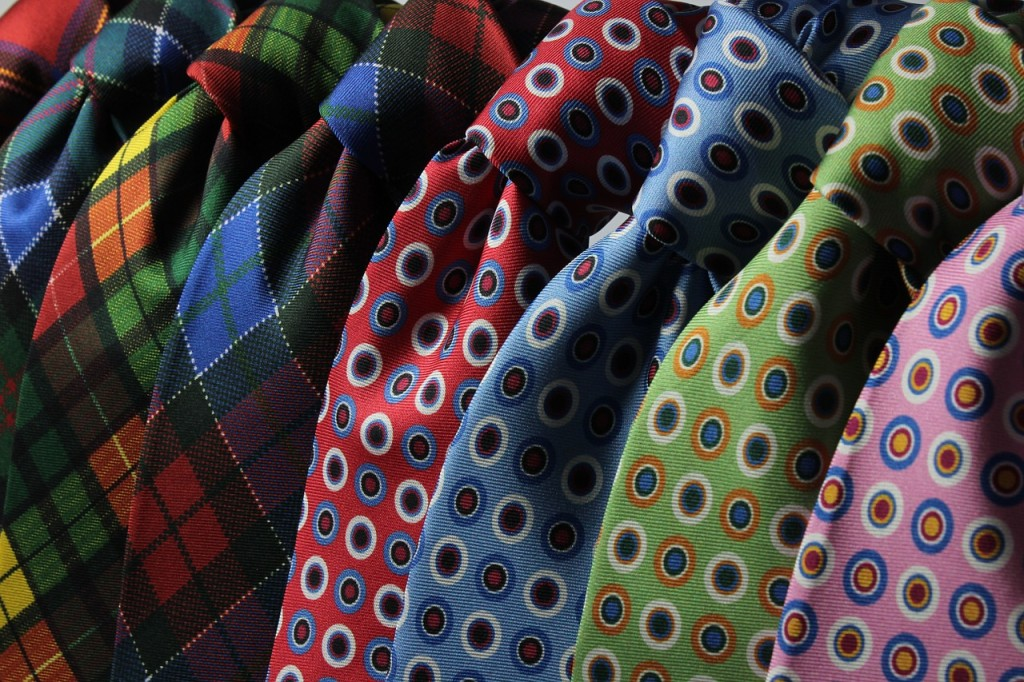 color neck ties
