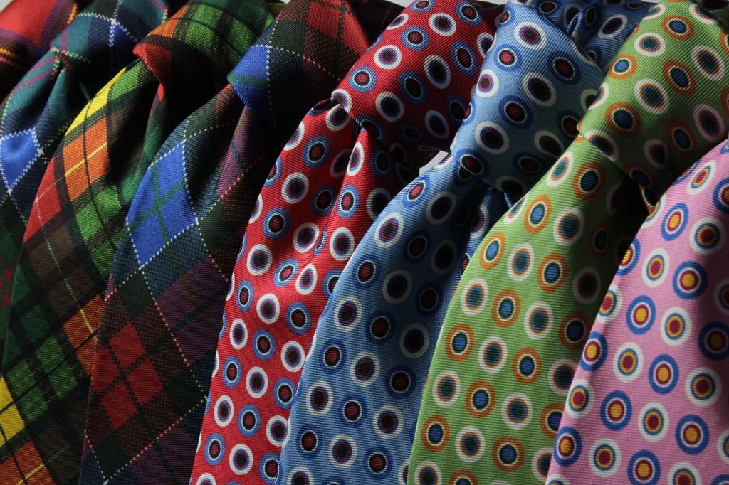 color neck ties
