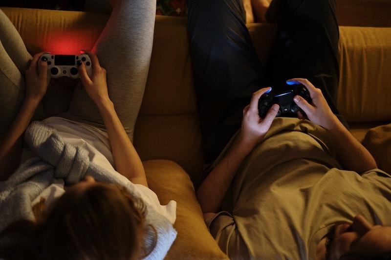 People gaming