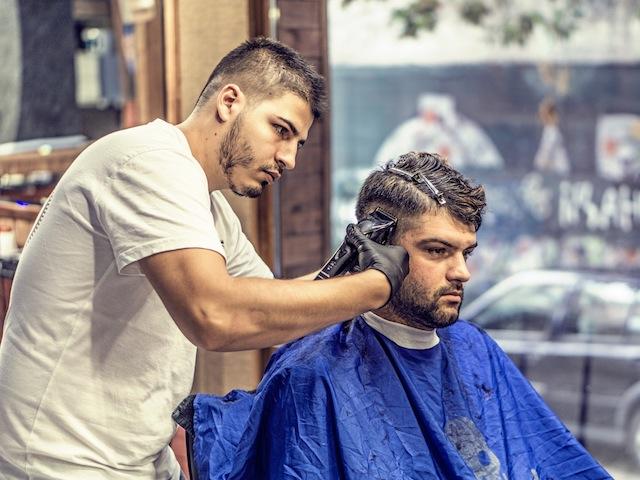Getting A Haircut 12