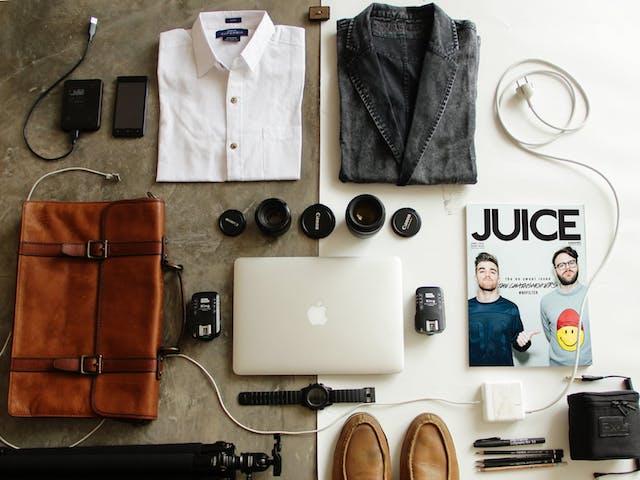 mens travel items