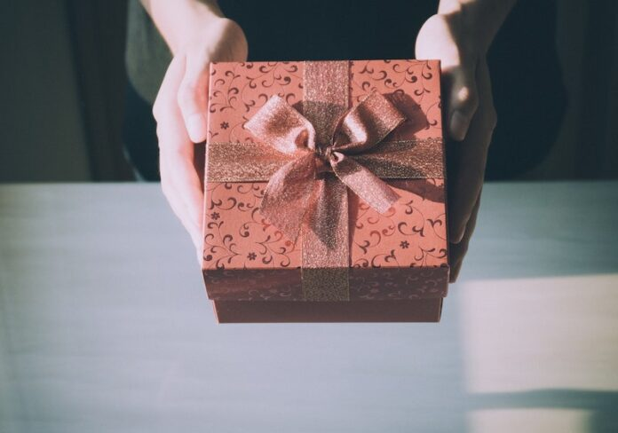 Birthday presents woman