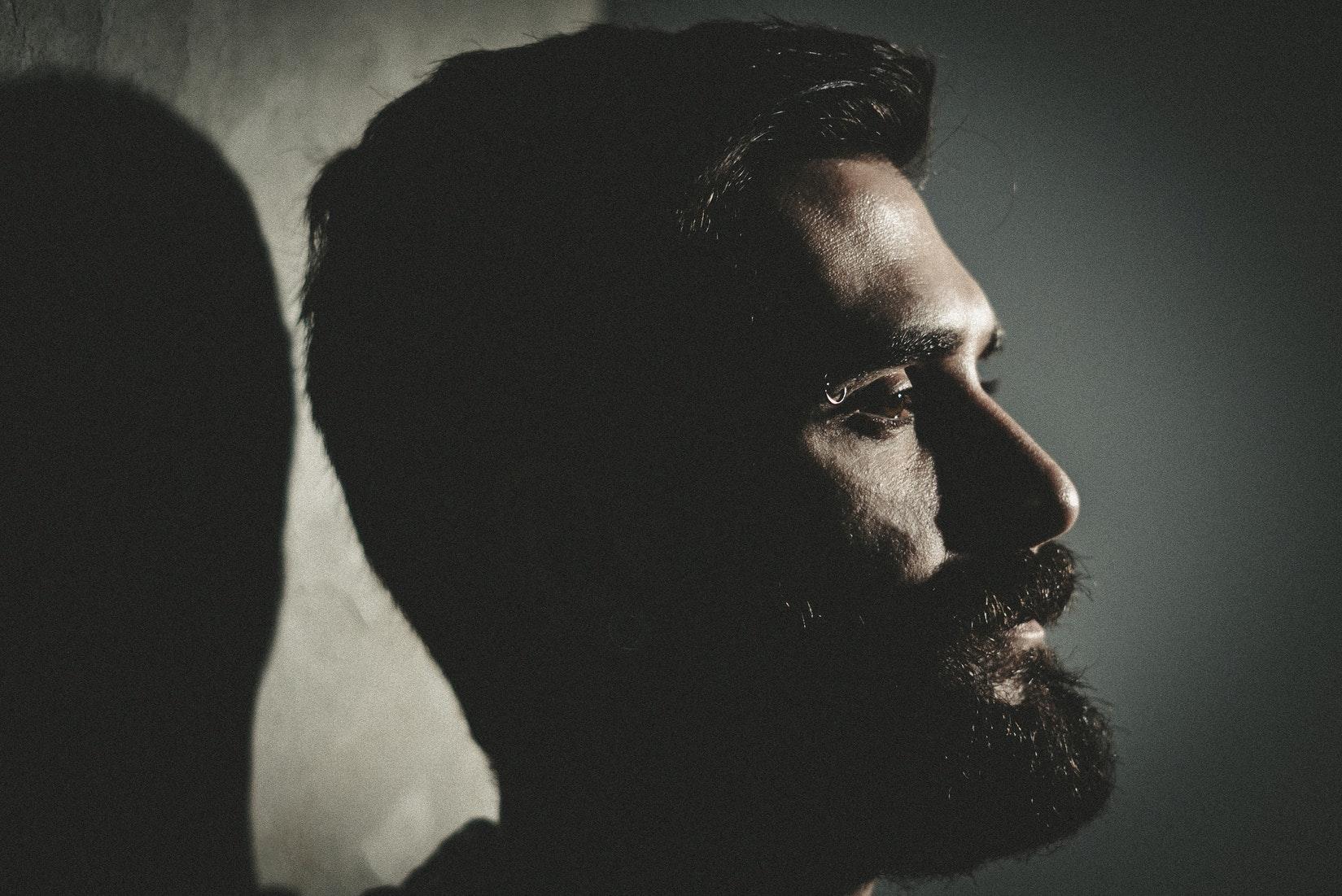 beard shadow
