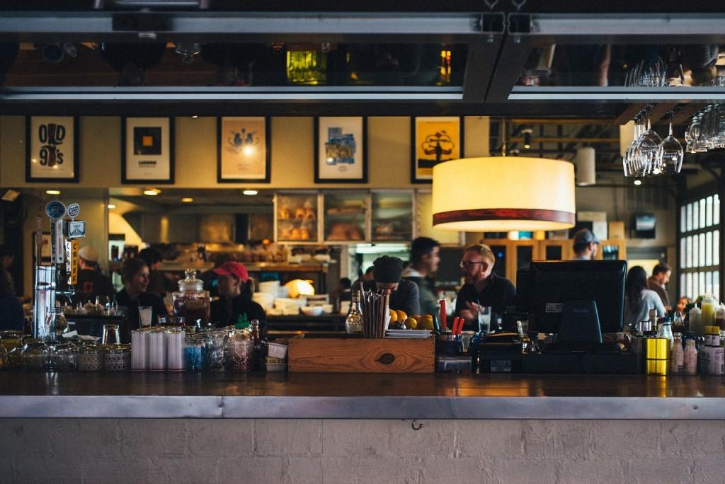 inside a bar photo